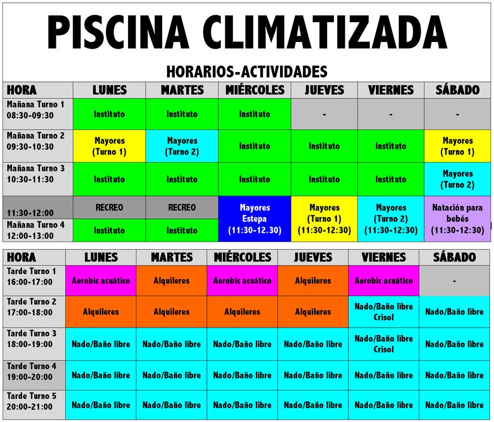 Enero 2014 excmo ayuntamiento de casariche sevilla for Horario piscina alaquas