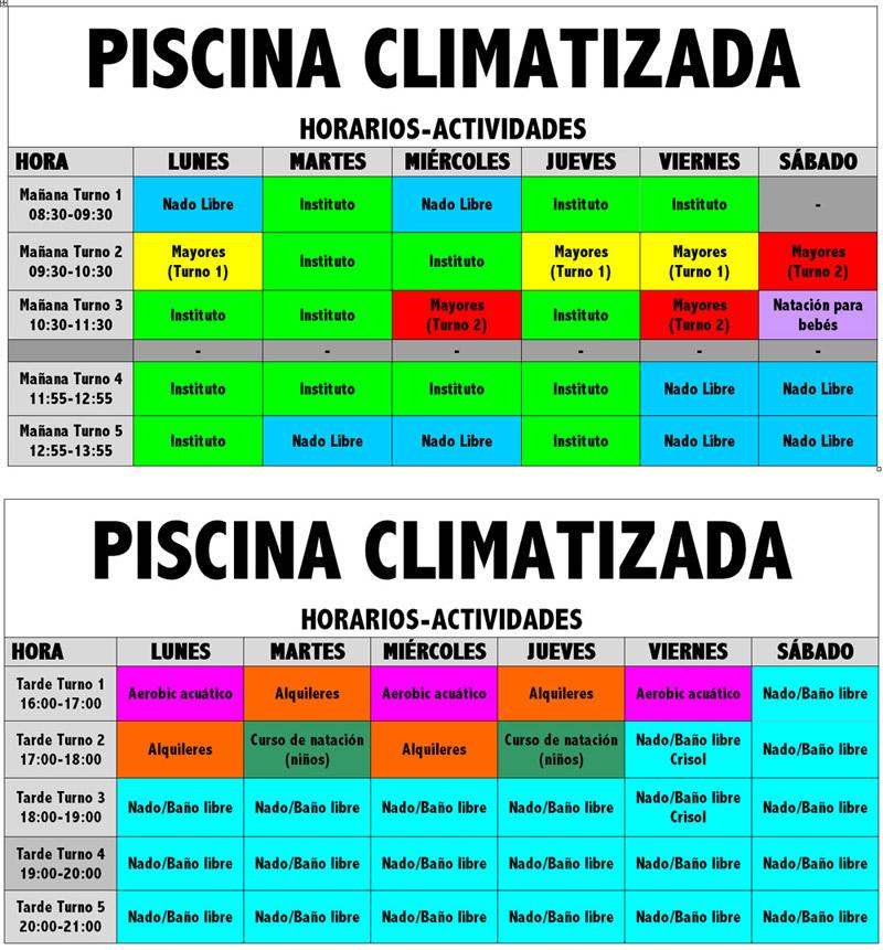 La temporada de la piscina terap utica climatizada for Horario piscina alaquas