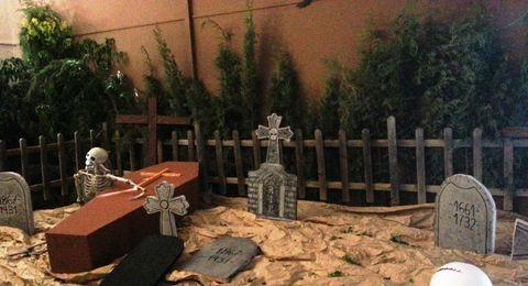 pasaje del terror cementerio